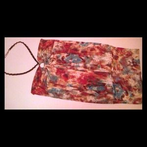 Tops - REDUCED!!!!Beautiful multicultural colored halter.