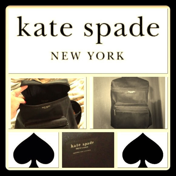 kate spade Handbags - Authentic Kate Spade backpack purse