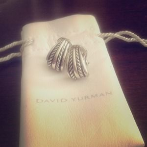 David Yurman Jewelry - David yurman sterling silver earrings