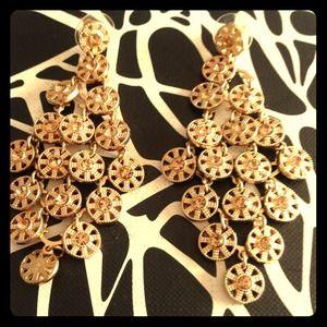 Express Gold Chandelier Earrings