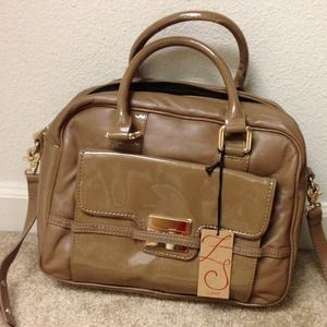 Reduced!!! Zac Posen Beige Satchel