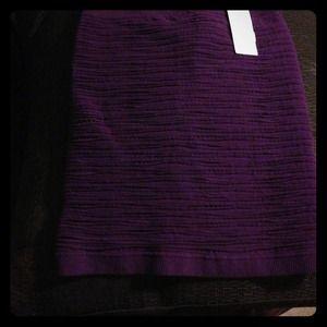 BCBGeneration Dresses & Skirts - BCBGeneration purple stretchy skirt