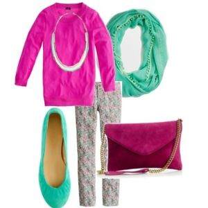 J. Crew Clutches & Wallets - REDUCED Fuchsia Clutch (J. Crew)