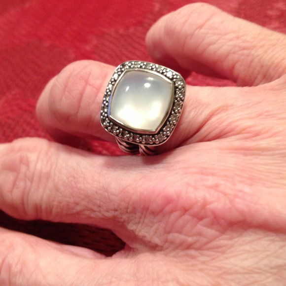 e67bc8ebe386b David Yurman Moonstone diamond ring