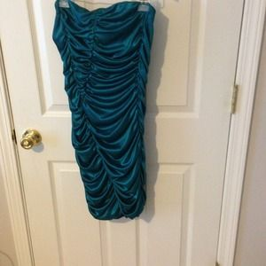 Blue/Green Cocktail Dress