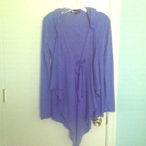 ❤️Beautiful Cashmere blend cardigan w/ hood