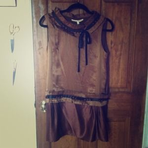 Brown silk 3.1 Phillip Lim dress