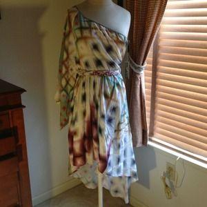 🎉Host Pick🎉💥Stunning 100% Silk Dress 🌟