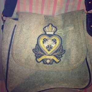 Authentic Juicy couture cross body bag