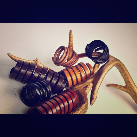 Nazari Pau Jewelry - Radolpho Morello hand made leather wrap bracelets