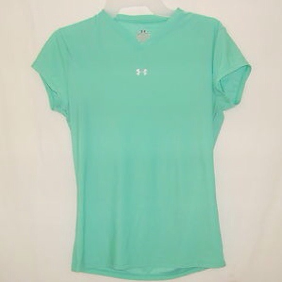 Under armour teal under armour shirt from rebecca 39 s for Teal under armour shirt