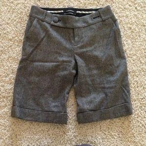 TWEED CAPRI PANTS