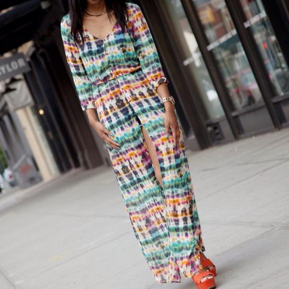 af4bded2 Zara Dresses | Tie Dye Maxi Dressbeach Coverup | Poshmark