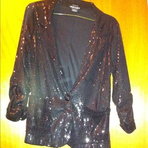 Sequin Blazer!