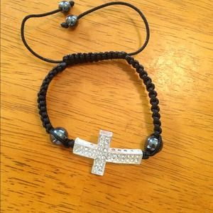 Jewelry - Cross shamballa bracelet