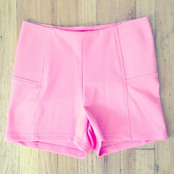 Pink High Waisted Shorts S from Ruth's closet on Poshmark