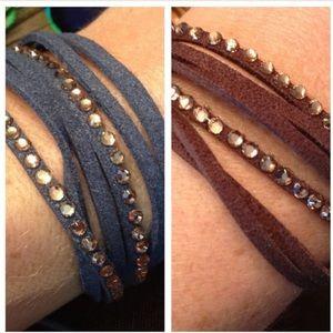 Jewelry - Set of TWO! Stylish Bracelets
