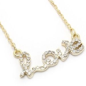 Jewelry - Love necklace