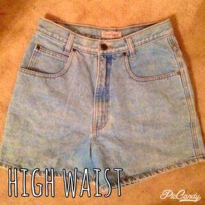 Great Land Denim - High Waisted Shorts