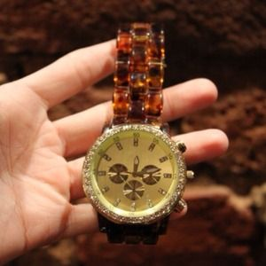 Accessories - REDUCED Tortoise Shell Watch