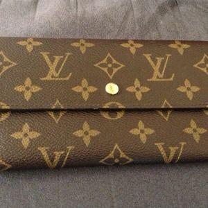 💯Authentic LV Monogram Porte-Tresor Wallet