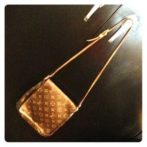 Retired Louis Vuitton Monogram Musette Tango Flap