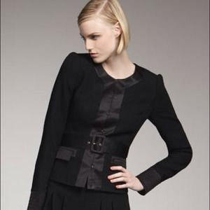 HOST PICK Rachel Zoe Black Belted Jacket 2 NWT
