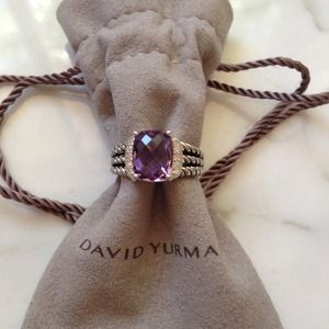 David Yurman PETITE WHEATON RING, 100% AUTHENTIC