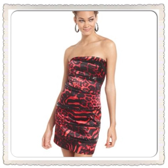 Jump - OUT OF STOCK Jump Juniors Strapless Sequin Dress from ...