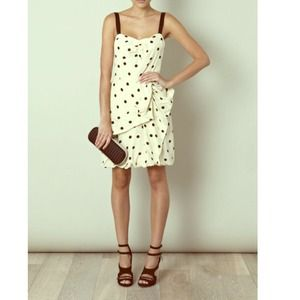 ⭐HOST PICK Marc Jacobs polka dot silk dress!