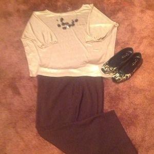 Pants - Fashion Bug Brown Capri Pants