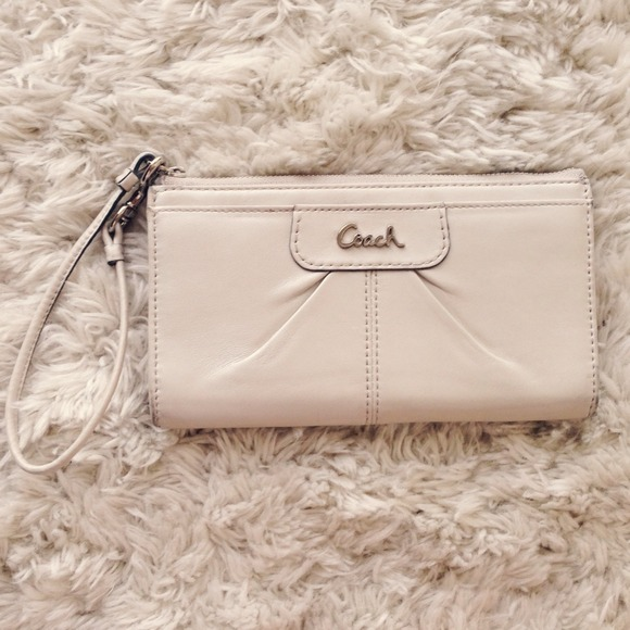 Coach Clutches & Wallets - Authentic Coach Wristlet!