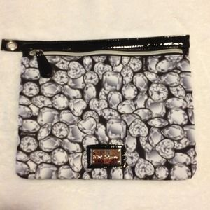 bundled NWOT Authentic Betsey Johnson pouch.