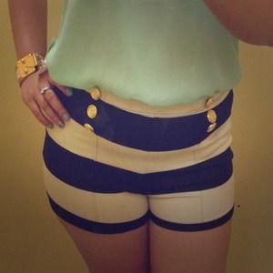 ⚡️sale⚡️Nautical Stripes Shorts