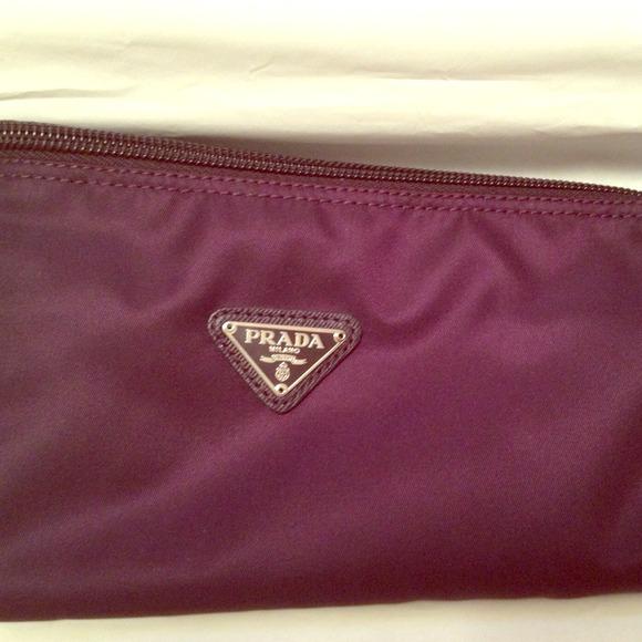 68ac3854445c Brand New PRADA Vela Cosmetic Bag Anemone KP6021