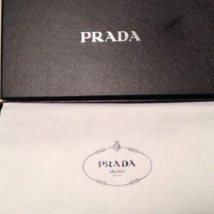 f2eb88545358 Prada Bags - Brand New PRADA Vela Cosmetic Bag Anemone KP6021