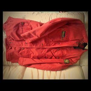 Belstaff Red Coat