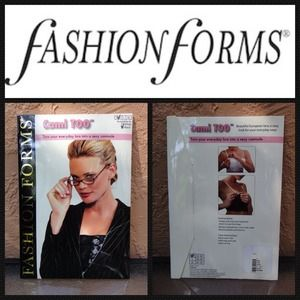Fashion Forms Tops - Size small/medium Cami hooks on bra