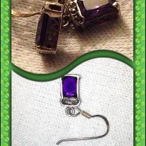 Jewelry - Sterling silver dangle earrings 💥sold💥
