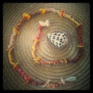 Sunrise and KAHELELANI shell necklace. for sale