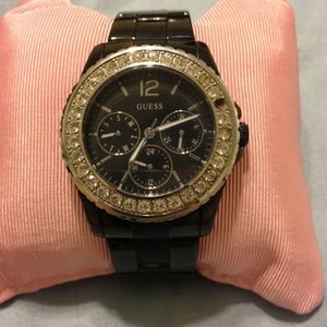 Accessories - *bundle for trade* Black Guess watch