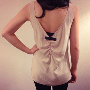 Paper Crown Tops - Paper Crown Silk Tank