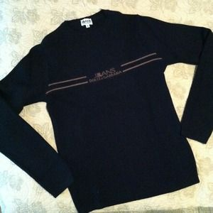 Dolce Gabban black wool sweater