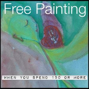 🆓TODAY! Free Painting with $150 purchase.