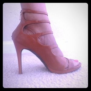 Shoes - Double ankle strap stilettos.