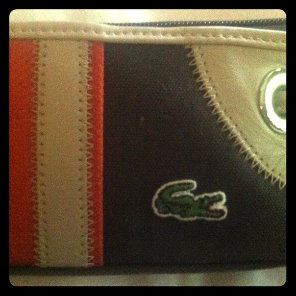 Lacoste Bags Pencil Casemakeup Bag Poshmark