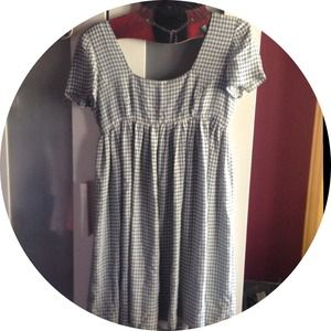Dresses & Skirts - Plaid blue dress