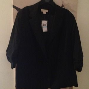 One Button Michael Kors Casual Blazer
