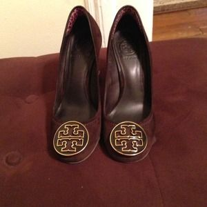 ***Bundled***Brown Suede Tory Burch Shoes