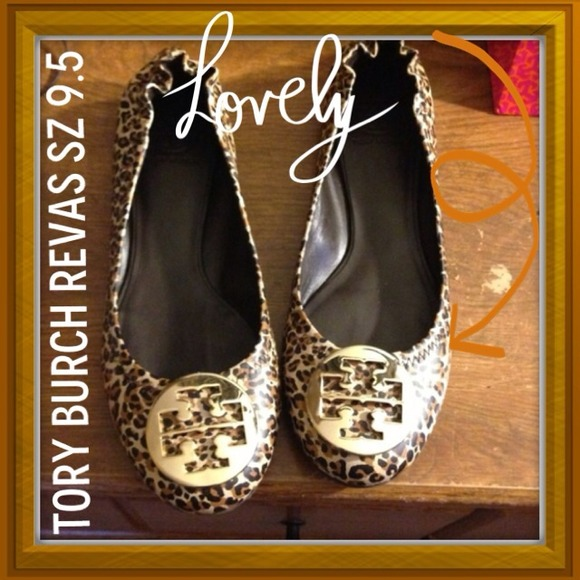 💛💛Bundle💛💛Tory Burch leopard Revas and Wedges